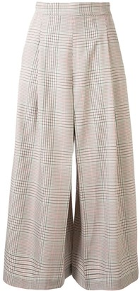 Ginger & Smart Imperial plaid culottes