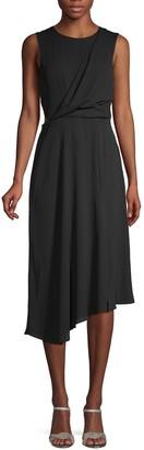 Rachel Roy Asymmetric Midi Dress
