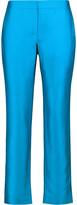 Raoul Wool and silk-blend satin straight-leg pants