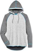 Retrofit Men's Nep Stripe Raglan-Sleeve Hoodie