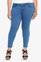 Torrid Denim - Overdye Ankle Zip Stiletto Skinny Jeans