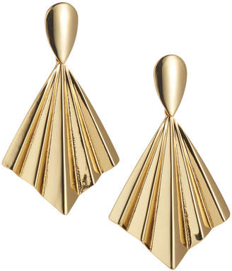 Kenneth Jay Lane Fan Drop Earrings