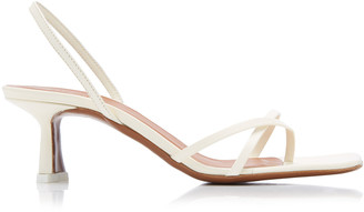 Neous Meira Leather Slingback Sandals
