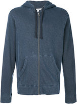 James Perse zip hoodie - men - Cotton - S