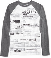 Epic Threads Raglan-Sleeve Graphic-Print T-Shirt, Boys, Only at Macy's