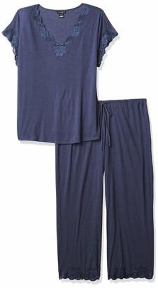 Natori Women's Zen Floral Short Sleeve PJ