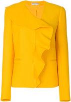 Emilio Pucci frill-embroidered blazer
