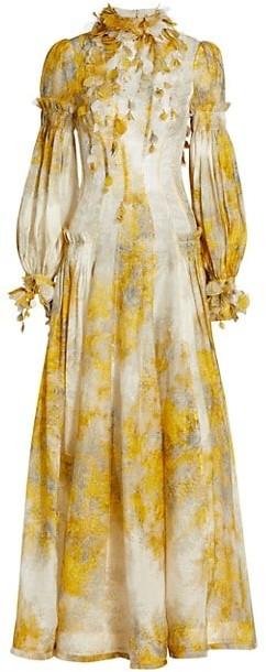 Zimmermann Wild Botanica Wattle Gown