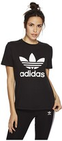 adidas Trefoil Tee (Black/White 3) Women's T Shirt