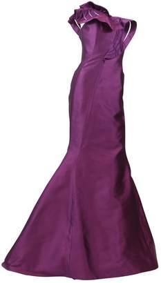 Angel Sanchez Pink Silk Dresses