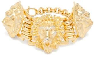 Gucci Lion-head Bracelet - Womens - Gold