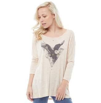Animal Womens Intheair T-Shirt Vanilla Cream Marl