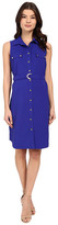 Christin Michaels Shelia Belted Dress