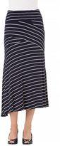 Haggar Women's Stripe Maxi Skirt