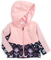 Columbia Infant Girl's Steens Mountain(TM) Overlay Water Resistant Hooded Jacket