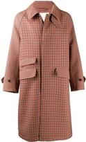 MACKINTOSH ASHKIRK Shepherd Check Virgin Wool Oversized Overcoat | GM-1024