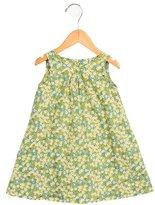 Makie Girls' Floral Print A-Line Dress