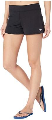Speedo Swim Shorts Black) Women's Swimwear