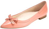 Cole Haan Alice Bow Leather Skimmer Flat