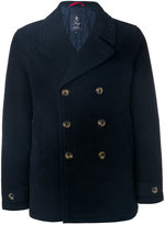 Fay classic double-breasted coat - men - Cotton/Polyamide/Polyester/Spandex/Elastane - M