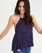 American Eagle Outfitters AE Tie-Back Halter Tank