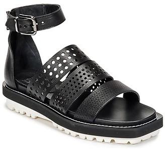 NOW PADOU women's Sandals in Black