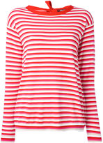Max Mara striped jumper - women - Polyester/Viscose - M