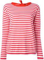 Max Mara striped jumper - women - Polyester/Viscose - S