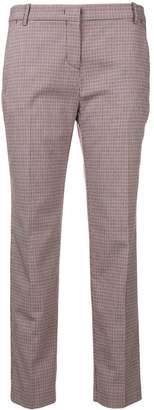 Pinko short checked trousers