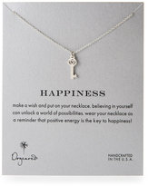 Dogeared Happiness Heart Key Necklace