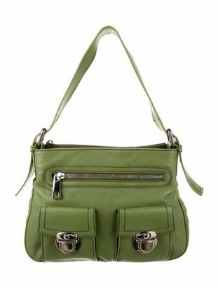 Marc Jacobs Leather Handle Bag Green