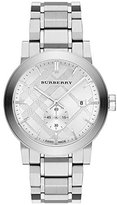 Burberry BU9900 42mm Steel Bracelet & Case Anti-Reflective Sapphire Men's Watch
