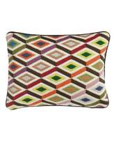 Jonathan Adler 12X16 BARGELLO DIAMOND PILOW