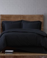 Thumbnail for your product : Brooklyn Loom Solid Cotton Percale King 3-Pc. Duvet Set Bedding