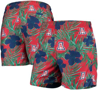Men's Red Arizona Wildcats Swimming Trunks