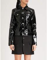 Helmut Lang Boxy PVC jacket