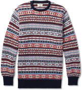 William Lockie Fair Isle Cashmere Sweater