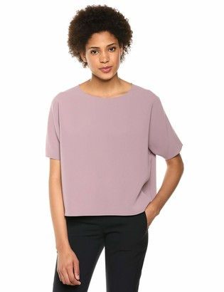 Theory Women's Short Sleeve Back Raglan Top