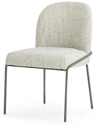 One Kings Lane Nikoli Dining Chair - Lyon Pewter