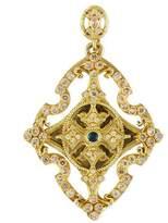 Armenta Sueno 18k Yellow Gold & Diamond Cross Enhancer
