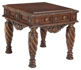 Ashley North Shore End Table - Dark Brown - Signature Design®