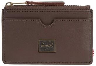 Herschel Oscar Leather RFID (Brown) Wallet
