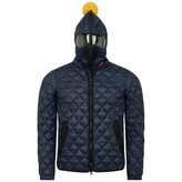 Stone Island Boys Navy Quilted Coat
