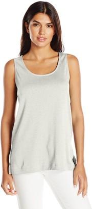 Joan Vass Women's Tunic Length Layering Tank