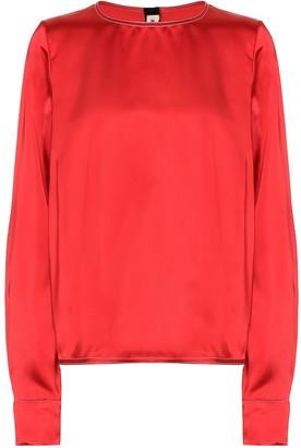 Marni Satin blouse