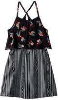 Appaman Kids Parrot and Tribal Print Lee Dress Girl's Dress