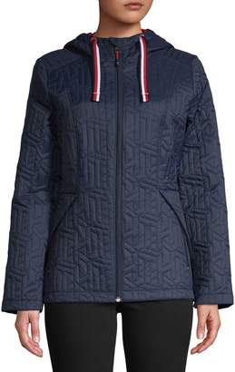 Tommy Hilfiger Packable Quilted Hooded Jacket