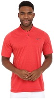 Tiger Woods Golf Apparel by Nike Nike Golf Velocity DF Cotton Blade Men's Short Sleeve Pullover