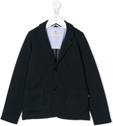 Woolrich Kids single-breasted fitted blazer