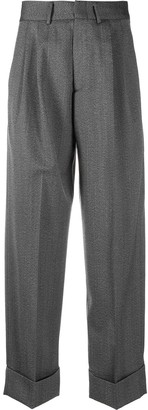 Tonello High-Waisted Trousers